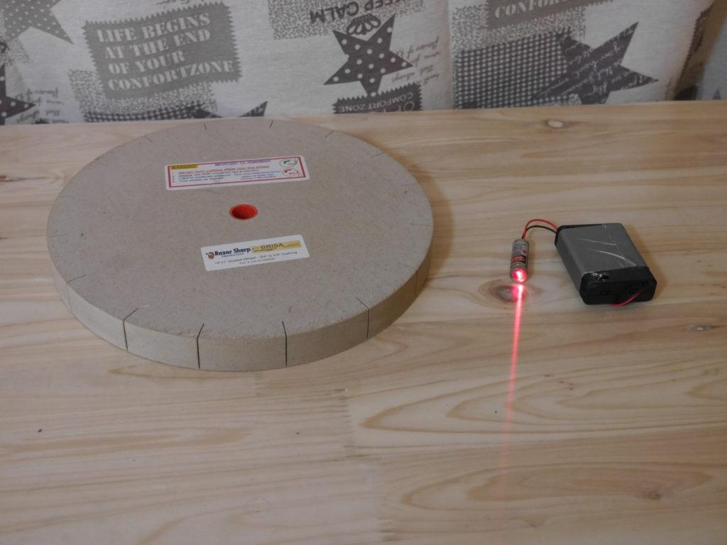 paperwheel und laser