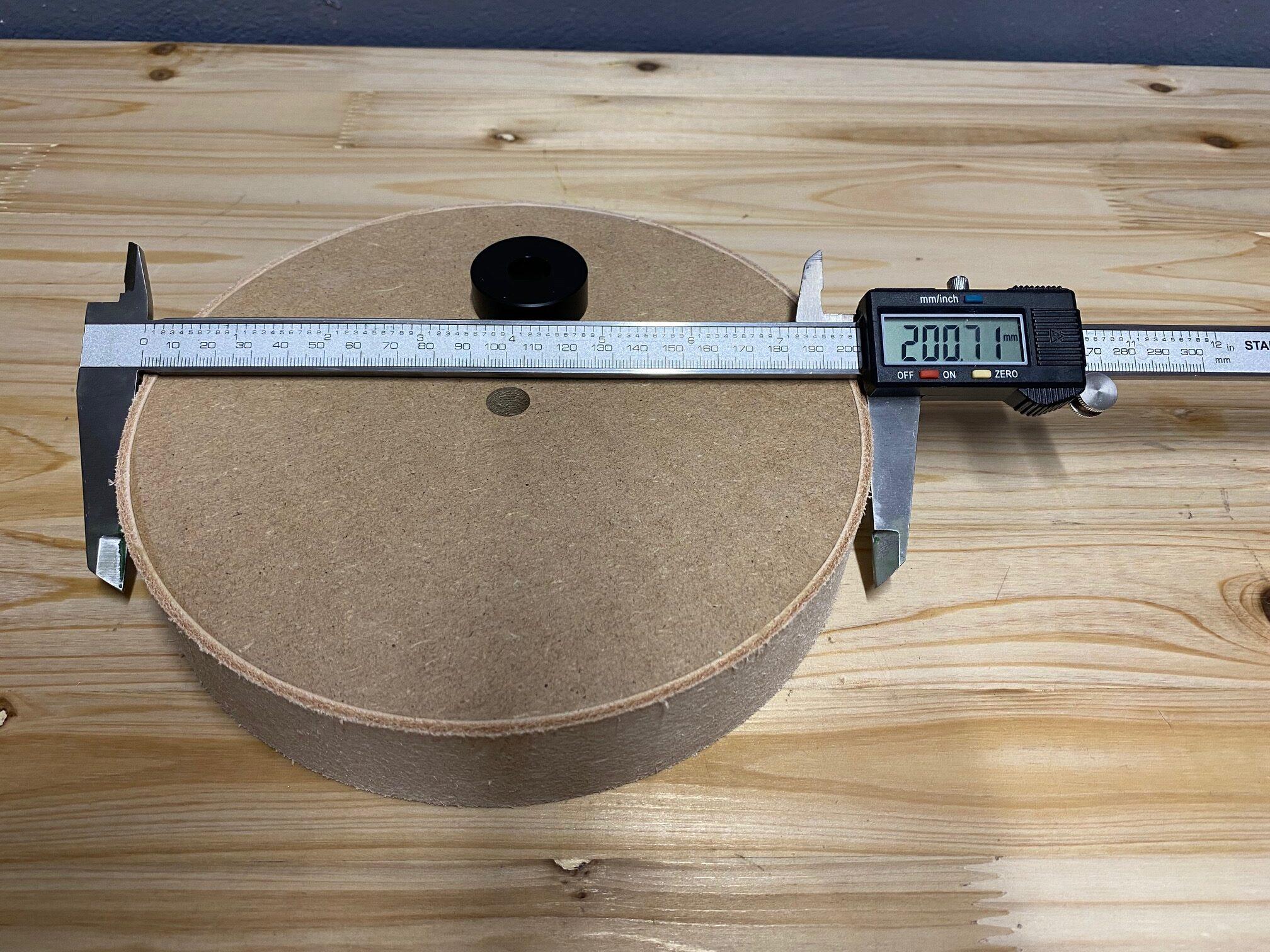 200mm Leder rotated